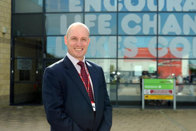 Chris Nattress, the principal of Lakes College.