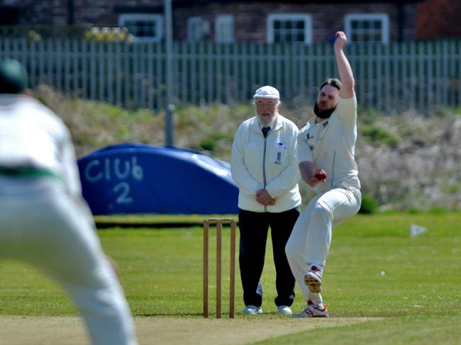 Phil Frazer: Took 4-26 as Carlisle beat Lindal Moor by seven wickets to go top of the Premier League