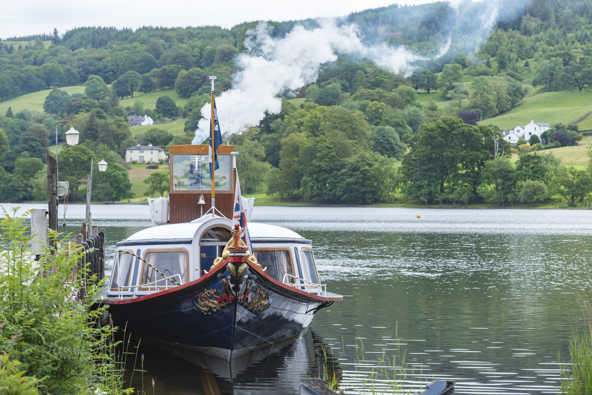 Beatrix Potter's landscape cruise and walk