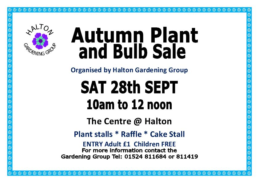 Autumn Plant & Bulb Sale
