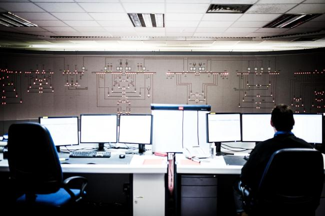 A control room at the Sellafield nuclear site