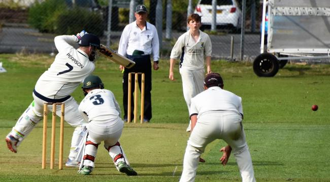 OUT FOR A DUCK: Cumbria's cricket season is likely to be off before a ball has even been bowled           BEN CHALLIS