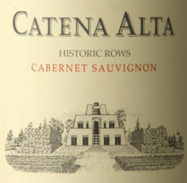 Catena Alta Cabernet: Careful fruit selection, exceptional wine making skills and 18 months in french oak make for an incredible wine. Rich cassis fruit with cocoa, cedar wood and hints of tobacco