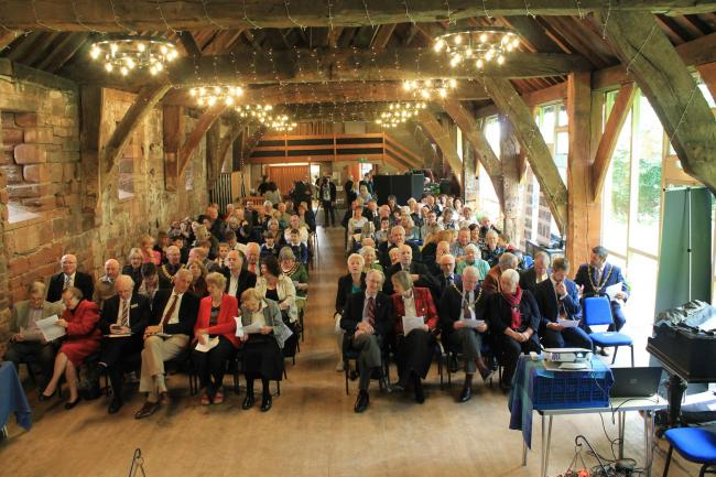 Attendees at Cumbria in Bloom 2019 Awards, Tithe Barn, Carlisle. Cumbria in Bloom