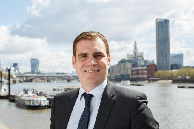Nuclear Industry Association chief executive Tom Greatrex