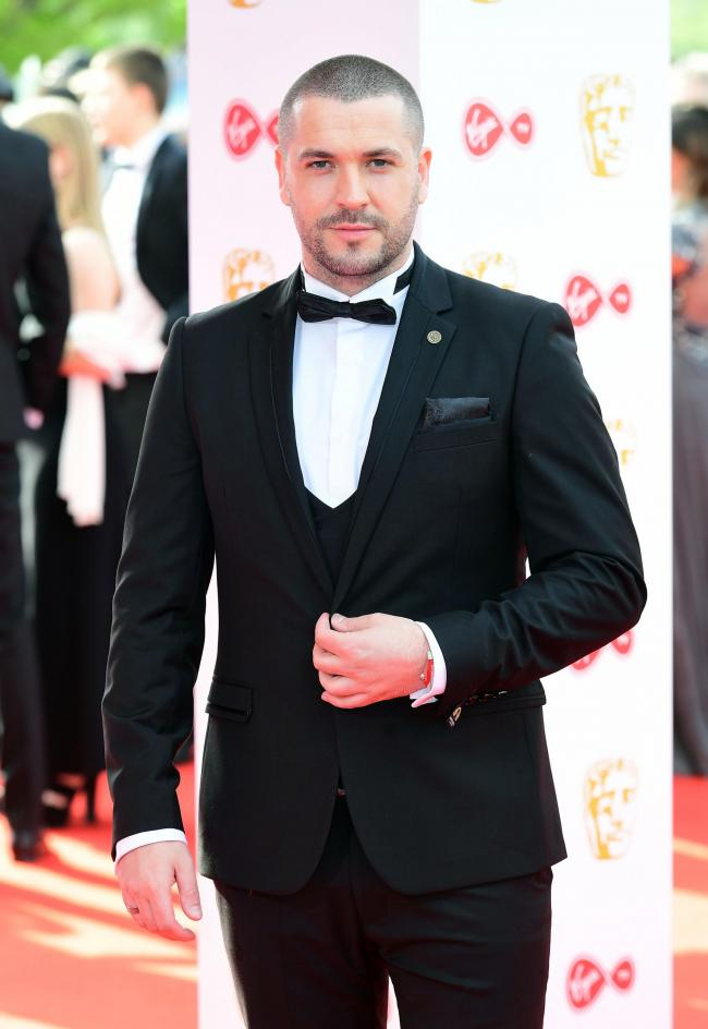 13/05/18 PA File Photo of Shayne Ward attending the Virgin TV British Academy Television Awards 2018 held at the Royal Festival Hall, Southbank Centre, London. See PA Feature SHOWBIZ TV Review 2018. Picture credit should read: Ian West/PA Photos. WARNING: