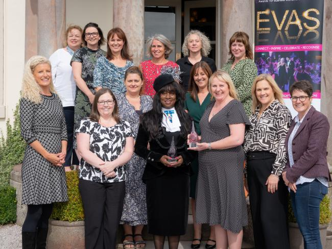 EVAs finalists 2019 meet High Sheriff Picture: Amy Bateman Photography