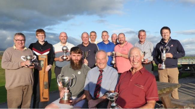 n Seascale Golf Club trophy winners