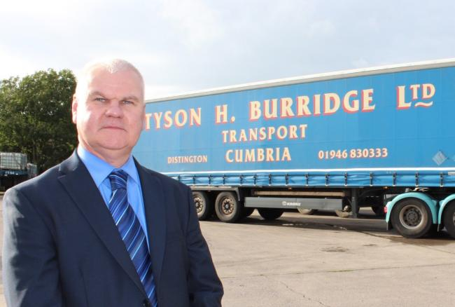 Neil Robinson, chairman of Cumbria Transport Group