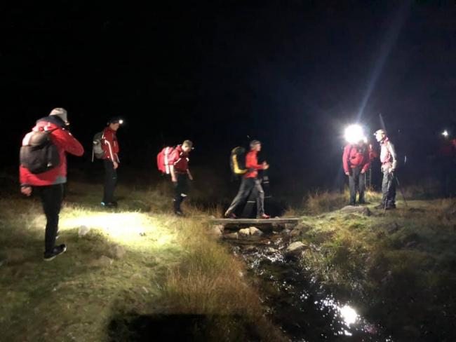 Wasdale Mountain Rescue team were called out to High Scarth Crag, Scafell. Picture: Wasdale MRT