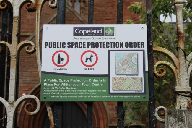 n A Copeland protection order advises the public what they can't do