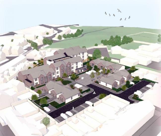 Distington dementia homes plans