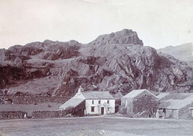 Undercragg… can a 300-year-old Cumbrian farmhouse lying at the foot of looming rocks have been better named?