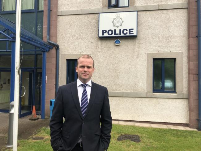 SPEAK UP PLEA: Temporary Detective Chief Inspector Dan St Quintin, of Cumbria Constabulary