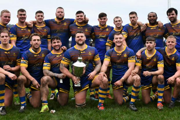 STAYING: Whitehaven will stick with the kit they wore in the abruptly halted 2020 campaign when they take back to the field next year	            BEN CHALLIS