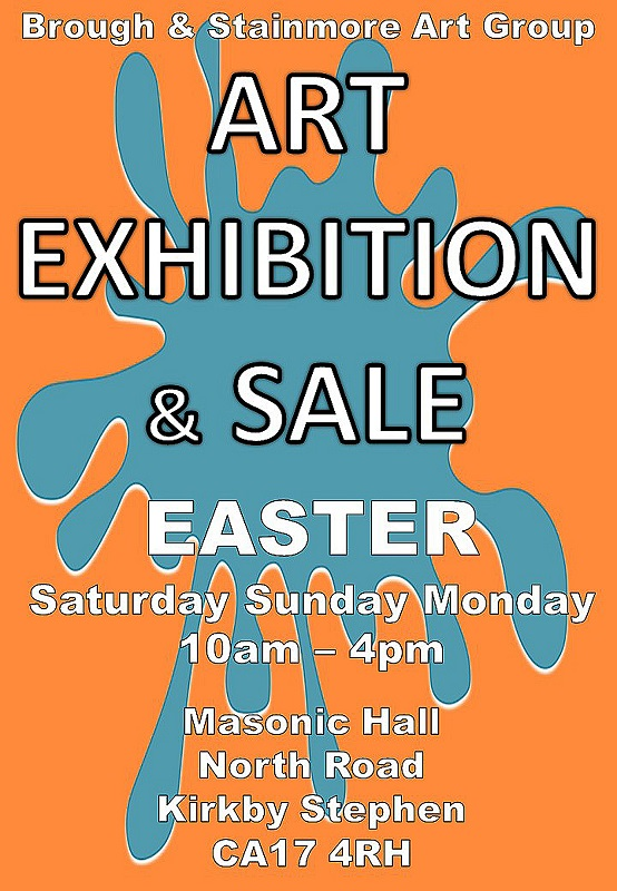 Brough and Stainmore Art Group – Easter Exhibition