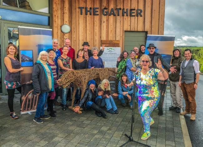 The Gather are developing their reputation in the arts