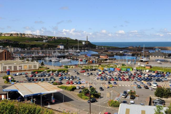 The port of Whitehaven