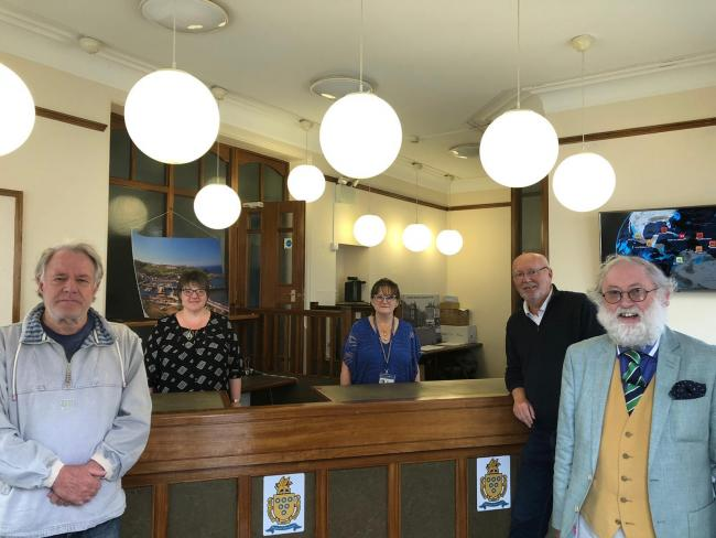 Whitehaven Town Council has officially moved from the Civic Hall to the former Whitehaven News building on Queen Street, in order to adhere to government Covid guidelines Picture: Whitehaven Town Council