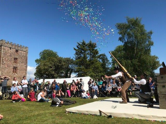 Showtime: The magic of outdoor theatre is finally returning to Muncaster Castle, with its first show set for this afternoon!           Picture: Muncaster Castle