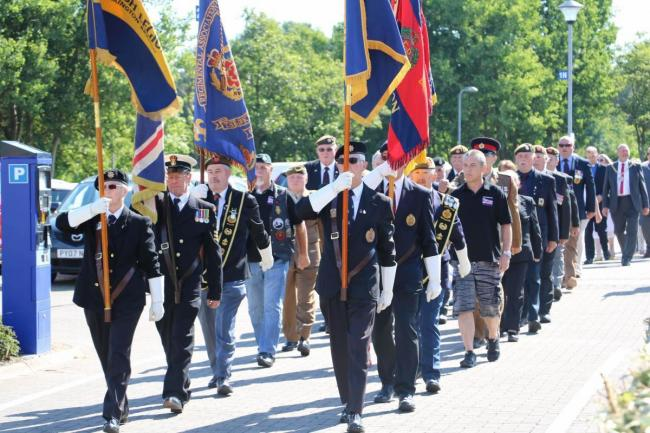 Cumbria County Council has been praised for its support of the forces community