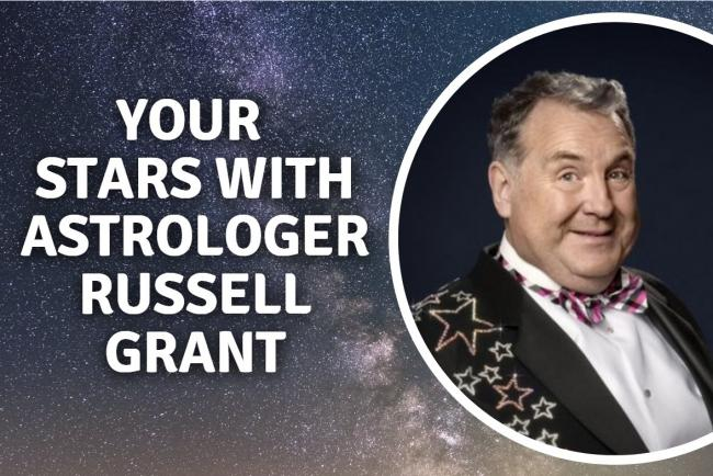 Russell Grant's daily horoscopes for Sunday September 27