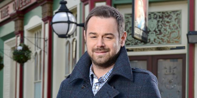EastEnders: Danny Dyer as Mick Carter. Picture: BBC