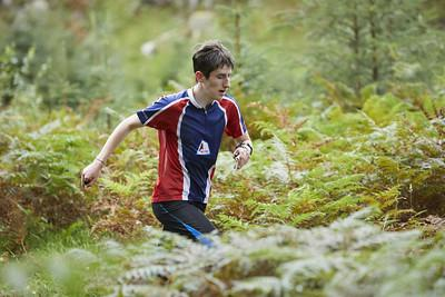Orienteer Joe Sunley won the club's autumn series