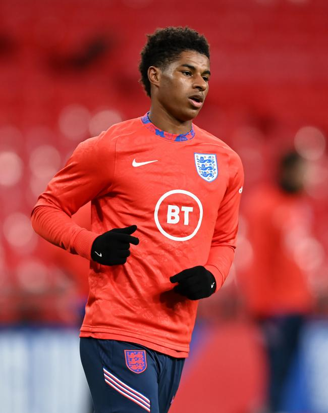 STOP HUNGER: Marcus Rashford launched a  petition urging the Government to act to end child poverty      PA