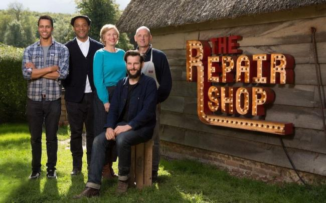 The Repair Shop: Jay Blades and the team get a visit from a cool customer (BBC1, 8pm Wednesday) Picture: BBC