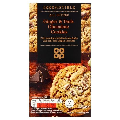 REACLLED: Co-op's Irresistible Ginger and Dark Chocolate Cookies