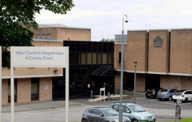 Sentence: Workington's Magistrates' Court, where the defendant appeared