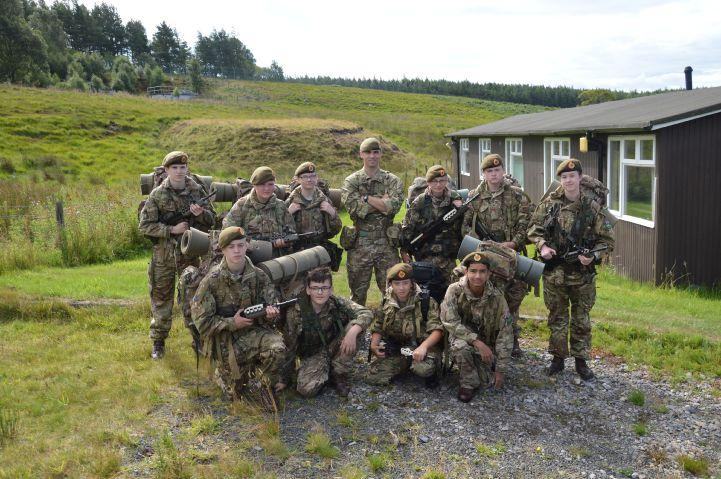 Cumbria's army cadet force complete special summer training