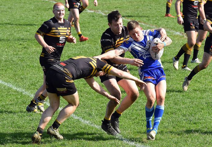 Try scorer: Egremont Rangers' Lewis Beckwith scored a try in his side's 22-10 win over Siddal
