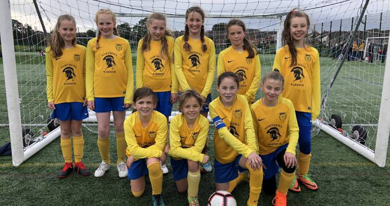 Strong showing: Whitehaven Under-12 Blues who competed in the county cup