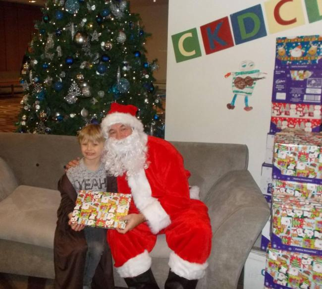 Charity fund donates gifts to seriously-ill children