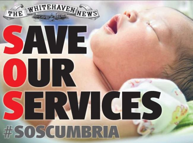 Sign the petition and help save Cumbria's health services