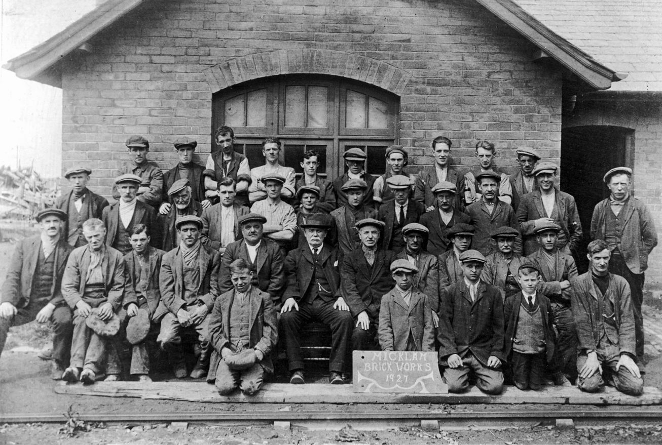 Building on success: The men from Micklam Brick Works