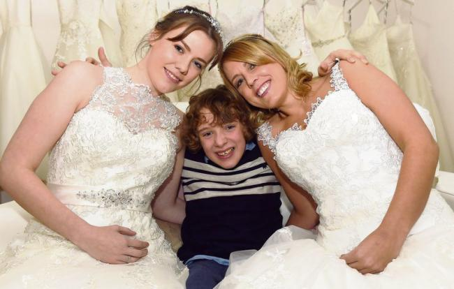 de0d5087ca3473 big day  Blush Bridal Boutique s Shannon Hymers and Natalie Tumelty are  helping to raise funds