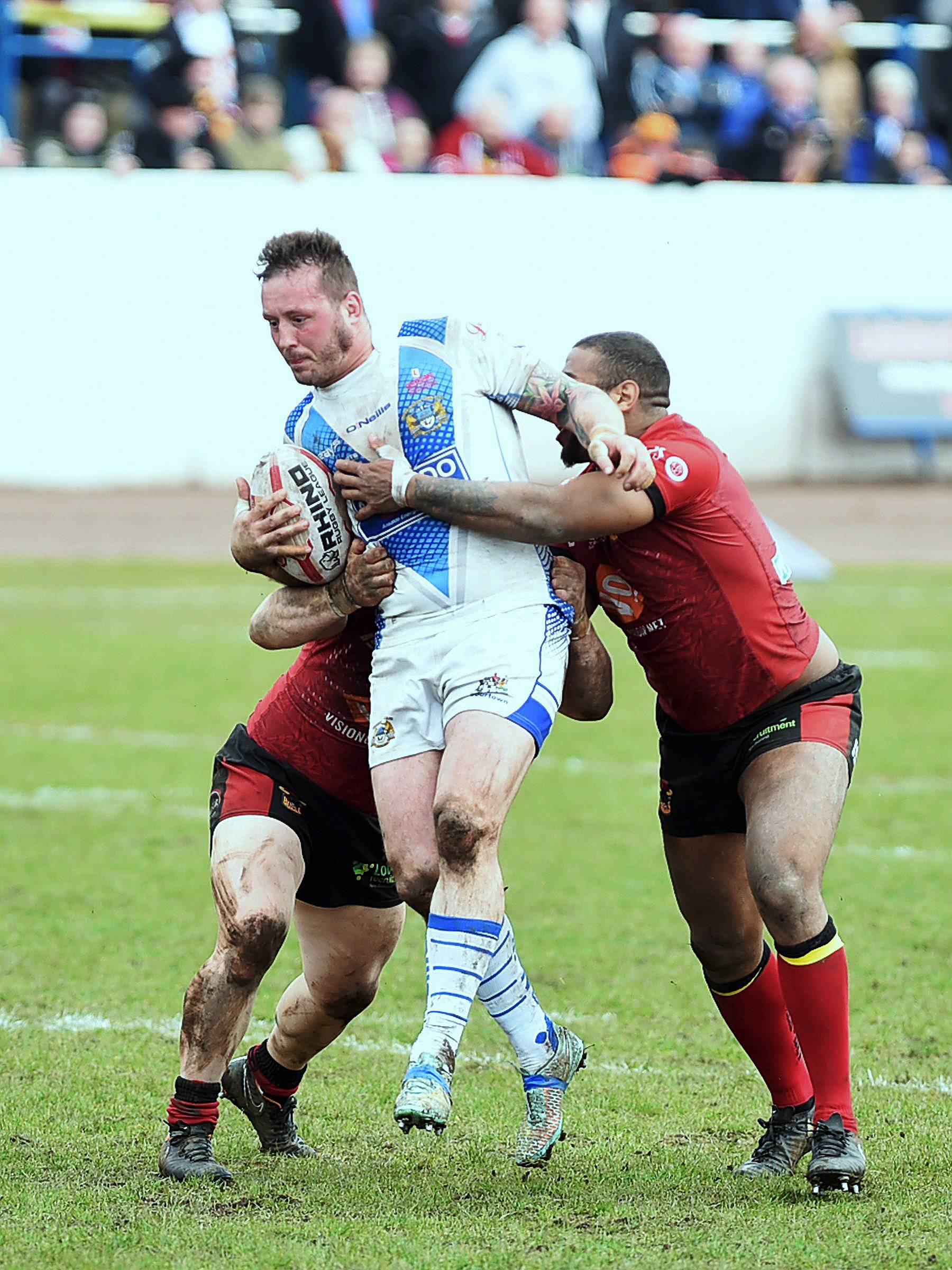 Workington Town's Oliver Wilkes may make his 500th career appearance for Scotland on Saturday