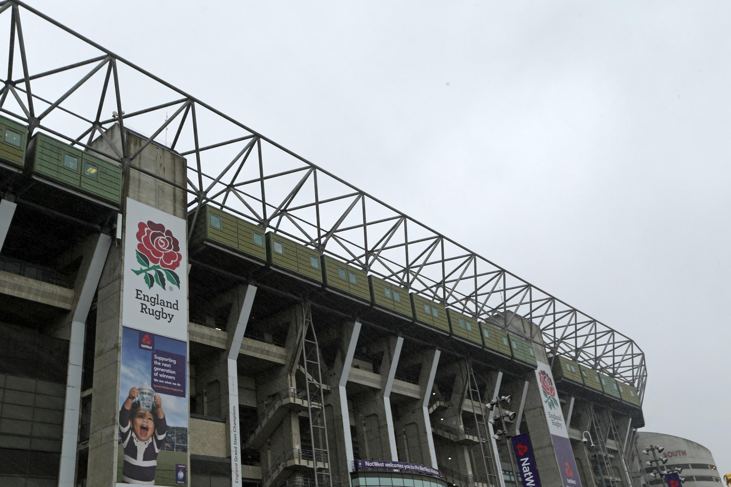 Twickenham will host this weekend's international between England and New Zealand