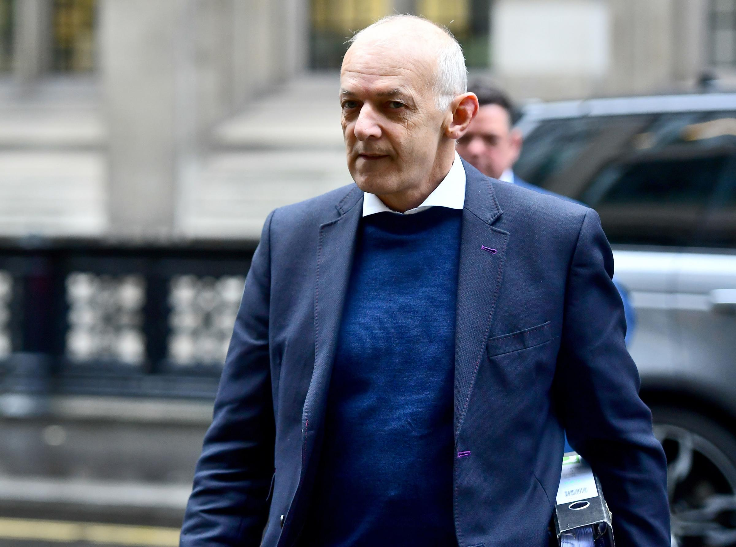 Andrew Tinkler arrives at the Rolls Building in London, where his former bosses at the Stobart Group are suing him in the High Court over allegations he conspired with others to harm the company's interests. PRESS ASSOCIATION Photo. Pi