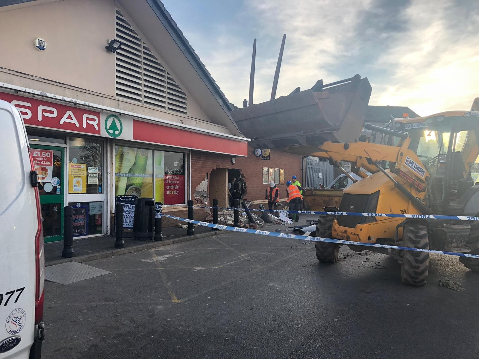 Overnight raid at Spar, Hensingham
