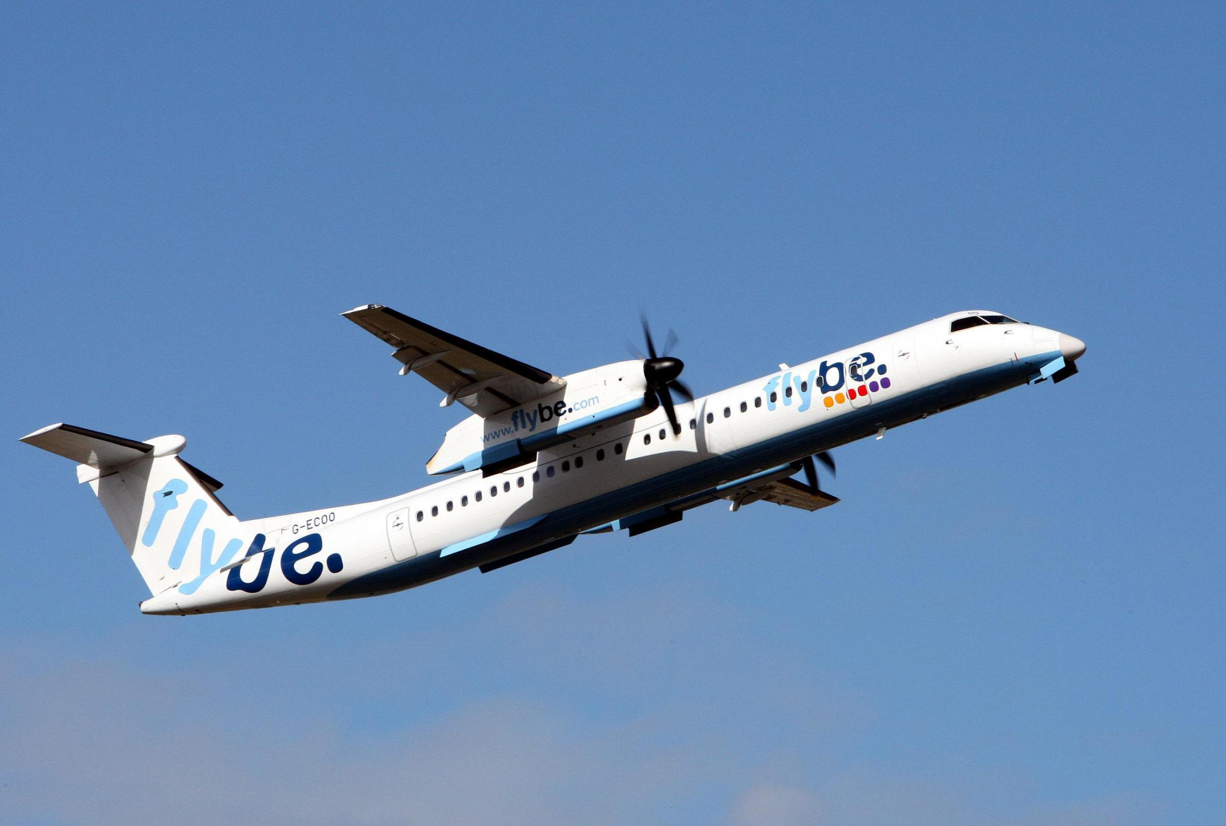 File photo dated 02/04/10 of a Flybe aircraft, as Flybe said it would be suspending its flights between Southend airport in Essex and Dublin from April 13. PRESS ASSOCIATION Photo. Issue date: Friday March 20, 2015. Flybe chief commercial officer Paul Sim