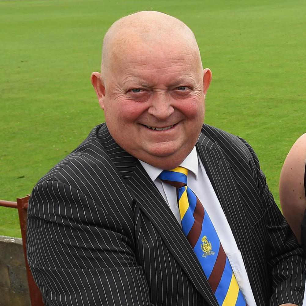 PRAISE: Chairman Tommy Todd