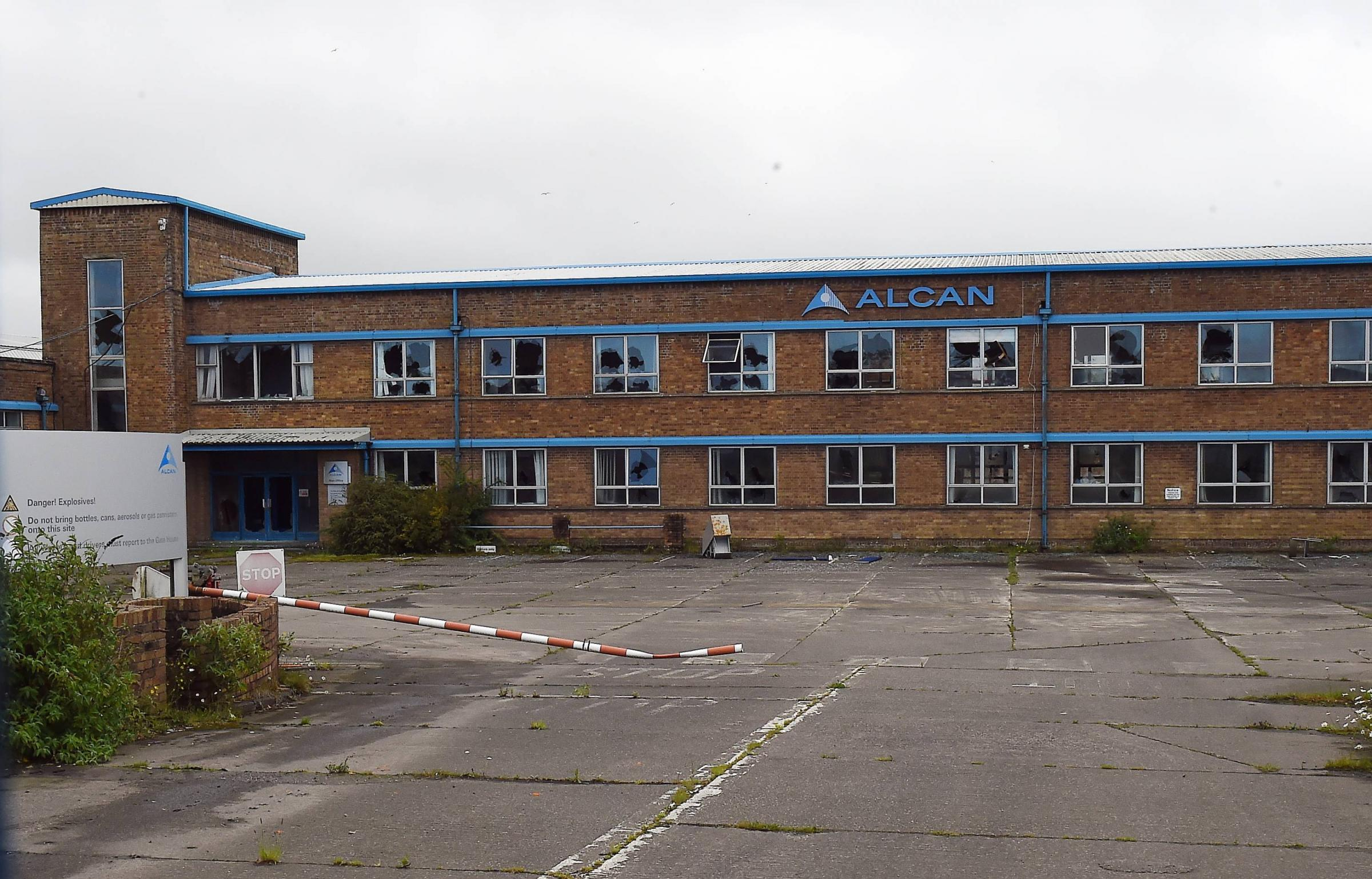 The main building on the Alcan site at Lillyhall, Workington which could be developed. Picture: John Story June 8, 2017