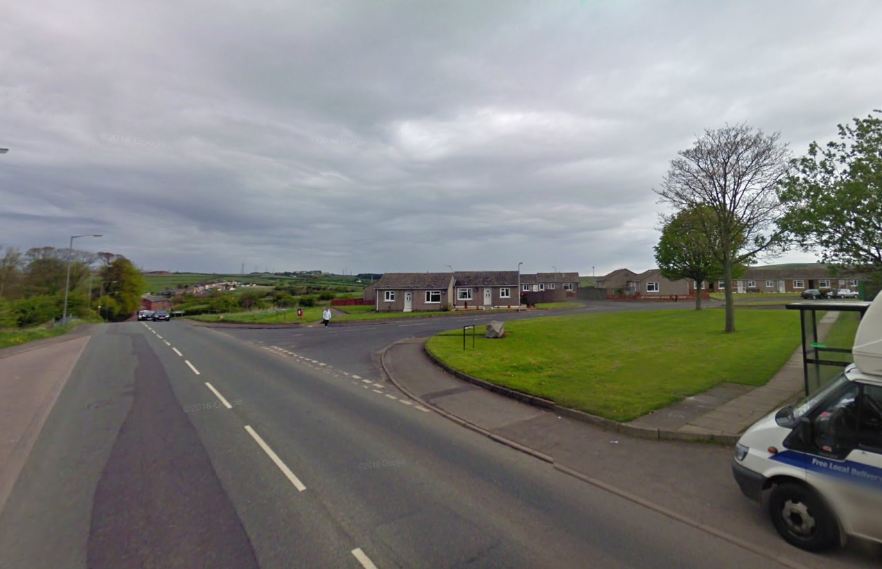 A tumble dryer caught fire at Mill Hill, Cleator Moor. Picture: Google Street View