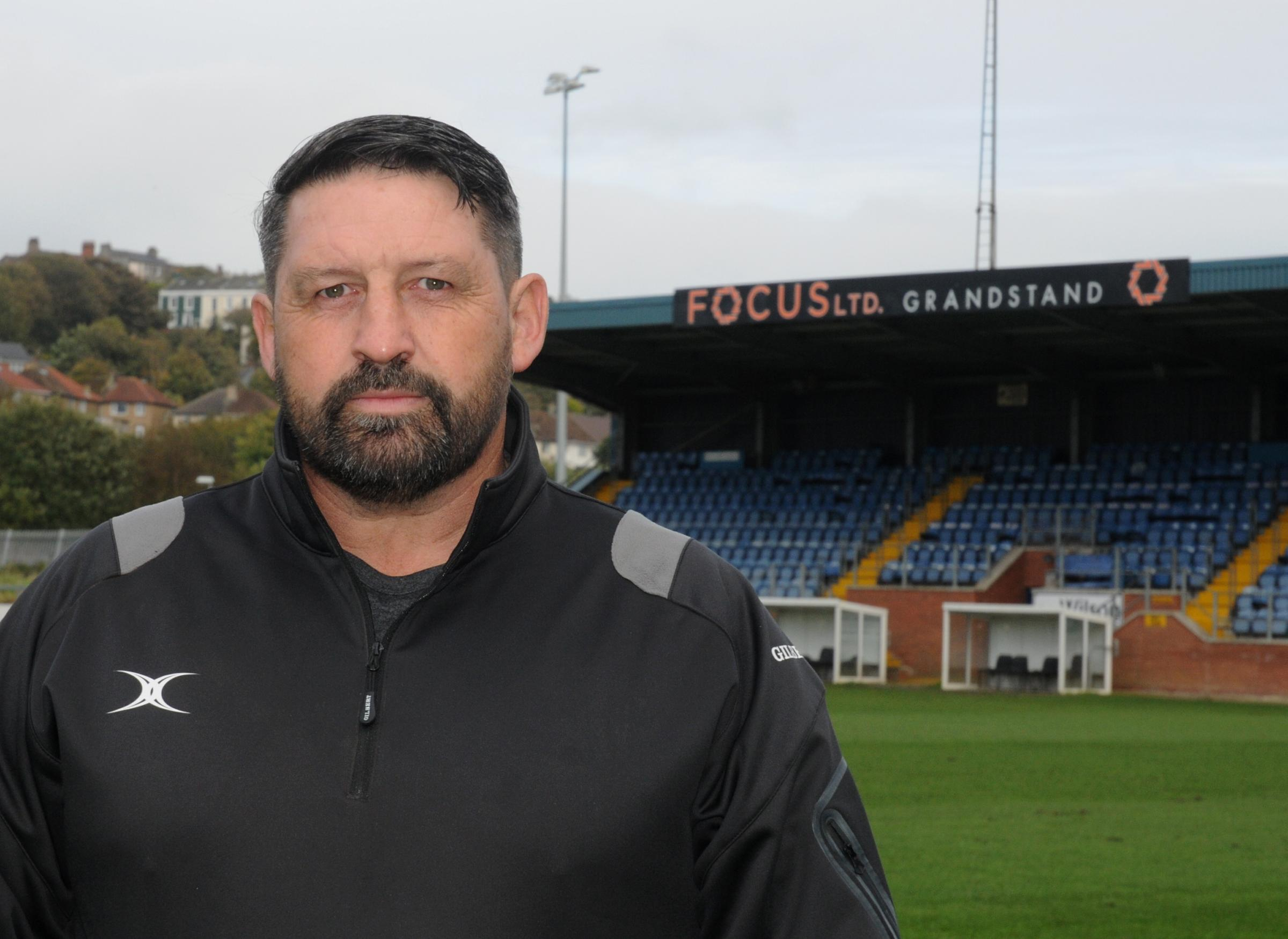 HAVEN COACH: Gary Charlton