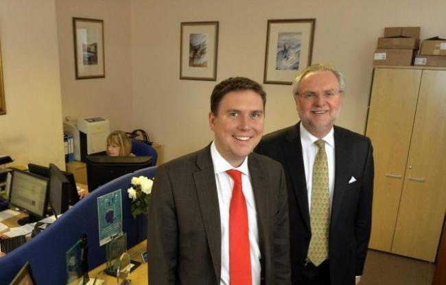 CHANGING BUSINESS: Chris and Graham Lamont