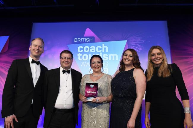 HOLDAY PROGRAMME OF THE YEAR: Reays Coaches